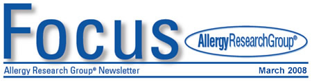 Focus - Allergy Research Group Newsletter