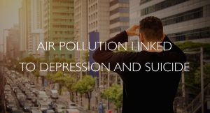 Air pollution linked to depession and suicide