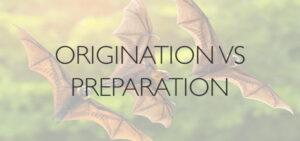 Origination-Vs-Preparation