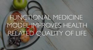 functional medicine improves health related quality of life