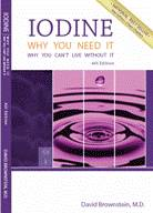 Iodine Why you need it - book cover