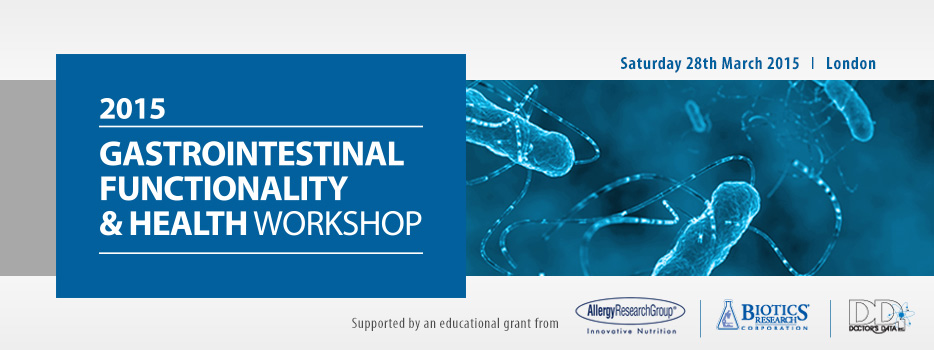 Gastrointestinal Functionality & Health Workshop 2015