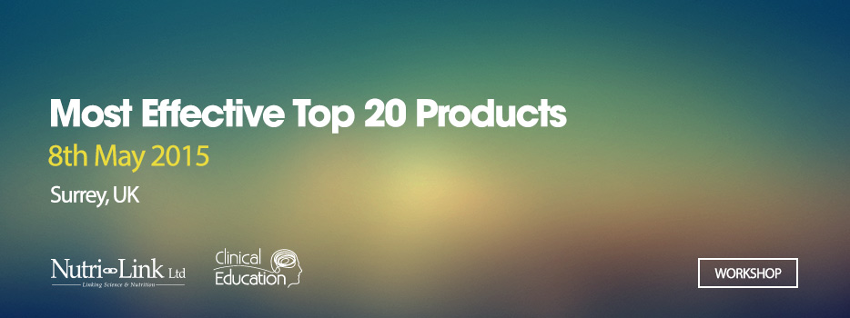 Most Effective Top 20 Products